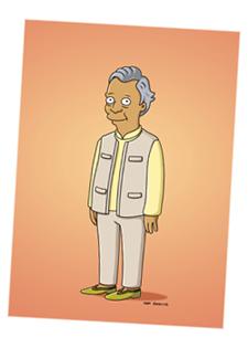Yunus-simpsons