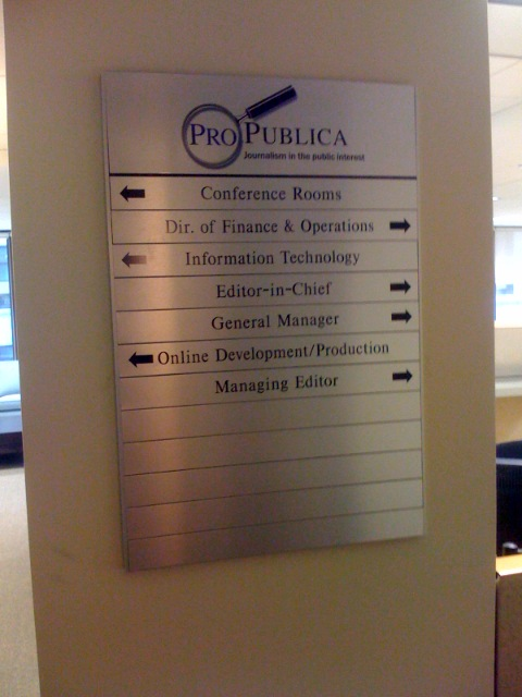 ProPublica: big stuff in news coming