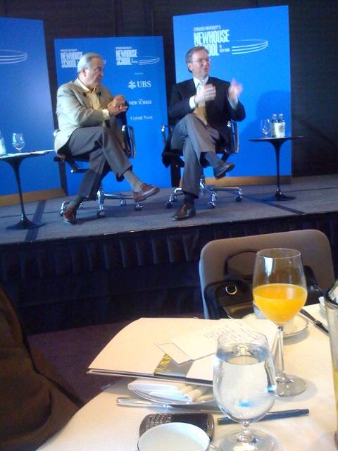Ken Auletta & Eric Schmidt in conversation